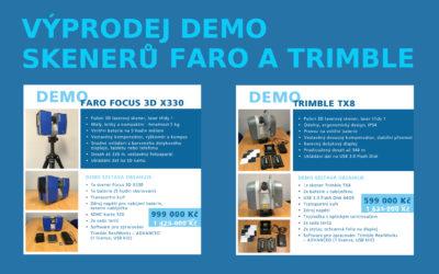 Výprodej DEMO skenerů