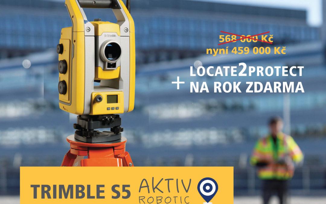 NOVINKA – Sestava Trimble S5 Aktiv Robotic