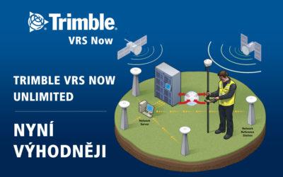 Korekce Trimble VRS Now výhodněji